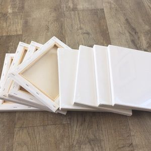 8 ARTIST CANVASES. Brand New.